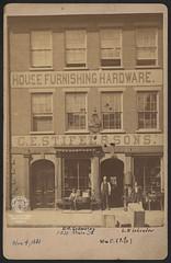 C. E. Stifel & Sons, November 4, 1881 (Ohio County Public Library) Tags: wheelingwv wheeling mainstreet stifel cestifelsons hardwarestore williamstifel wmcstifel ehschoening leschrader wcstifel cestifel homefurnishings housefurnishings