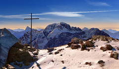 arera crossing (art & mountains) Tags: alpi orobie brembana seriana passodimezzeno escursionismo hiking neve roccia cima cresta crocedivetta confine cielo artwork phscc dentro