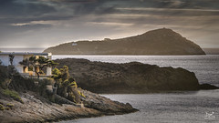 Afternoon delight (Bram de Jong) Tags: coast kalymnos greece sea landscape sky beautifullight house tree travel nikon 845filter nd8grad outdoor rock rocks brown ngc