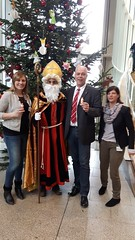 Der Nikolaus im Landtag
