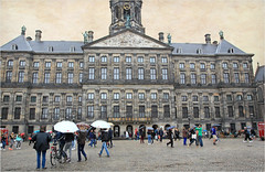 Stadhuis (anciennement Palais Royal), Dam, Amsterdam (claude lina) Tags: claudelina nederland netherlands paysbas hollande amsterdam ville city town dam stadhuis hôteldeville