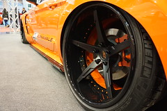 Essen Motor Show 2016 (schoenma79) Tags: essen motor show ems tuning car trade messe auto mustang ford rims wheels orange 2016