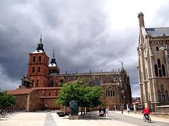 Catedral de Santa María de Astorga, León, Spanien(1) (Anne O.) Tags: 2016 astorga castillayleón spanien caminodesantiago panoramio6954847133718747