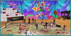 Anniversaire de Mickie (Tim Deschanel) Tags: tim deschanel sl second life anniversaire mickie madec mickiejames30 resident birthday fête