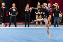 Utah-Red Rocks Preview (179) (fascination30) Tags: utah utes gymnastics redrocks university