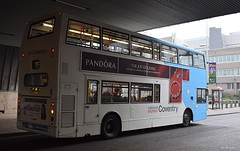 National Express Coventry 4416, seen on Cox Street (paulburr73) Tags: volvobus 4416 nxc december 2016 winter urban sportscentre coventry nationalexpress midlands westmidlands transbus alx400 b7tl 7litre volvo bus doubledecker coxstreet city citycentre elephantbuilding covered tunnel service16 warwickshireshopping 1616a