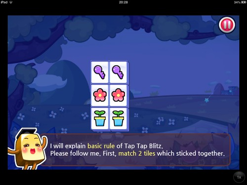 Tap Tap Blitz Tutorial: screenshots, UI