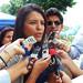 Roxana silva entrevista en radio voz del upano sobre ponencia en paraguay