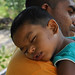 Dambulla - Sleeping Boy