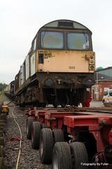076. 58022 loading at Crewe Diesel. 30-May-14; Ref-D104-P076 (paulfuller128) Tags: train ale class crewe locomotive bone scrap 58 mainline 58022 dmud c58lg
