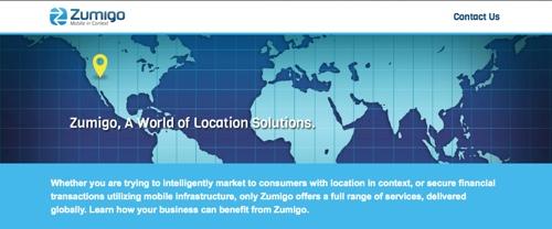 Zumigo_homepage