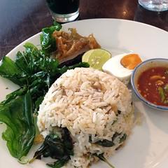 ข้าวผัดปลาสลิดไข่เค็ม | Fried Rice With Fried Sun Dried Fish And Salted Egg @ กัลปพฤกษ์ | Kalpapruek