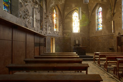 Agnus Dei 09 (Yanshee) Tags: urban art abandoned church architecture lost religious belgium belgique decay religion chapel forbidden forgotten exploration derelict hdr dei ue urbain urbex agnus