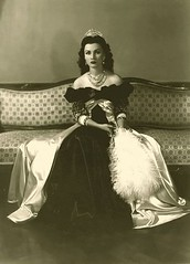 Fawzia Fuad of Egypt (1921-2013) (Strings of Pearl's) Tags: princess egyptian royalty