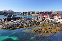 5523 Lofoten - Vestvågøya - Mortsund - Statles Rorbusenter (Docaron) Tags: norway lofoten norvège rorbuer mortsund vestvågøya vestvagoya dominiquecaron