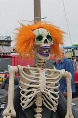 Ginger (DaveWilcock) Tags: festival honda skeleton ginger transport 86 fleetwood goldwing 100pictures tramsunday