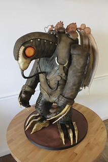 Bioshock Infinite Songbird Sculpted Cake - Imgur