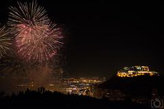 Fuegos 28-06-2014 (Sento MM) Tags: santabarbara alicante castillo fuegosartificiales hogueras