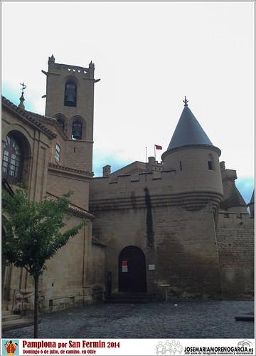 6 de julio en Olite de camino a Pamplona