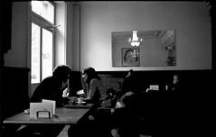Caf (analog surfing) Tags: film caf nikon couple lucerne ilford fm2