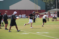 T. J. Yates (Thomson20192) Tags: atlanta camp training football branch tennessee nfl practice titans tennesseetitans atlantafalcons falcons flowery