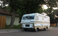 usa chevrolet 1974 small 350 70s block rv camper motorhome lethbridge powered conestoga madein