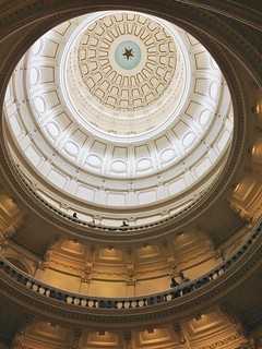 From flickr.com/photos/89518541@N00/14672370355/: Inside the Texas State Capitol: In the state's natural gas and oil rich south-central area, a sheriff and state agencies are going after a fracking waste hauling company.