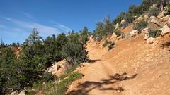 Approaching the Rim (NYHikerJohn) Tags: utah loop july trail fairyland 2014 brycecanyonnationalpark fairylandlooptrail johnridge nyhikerjohn americanhikingadventurescom