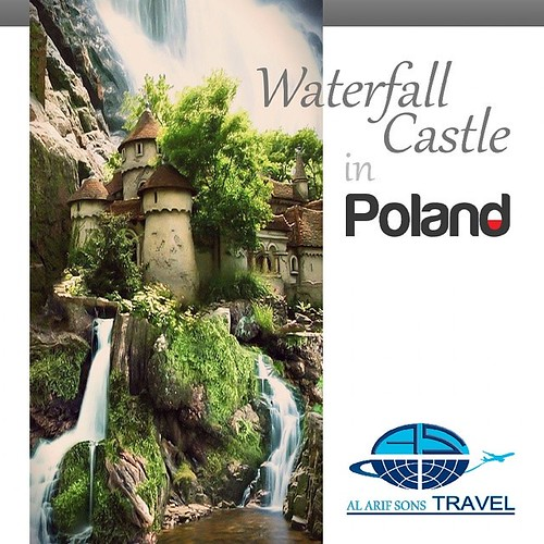 A legendary place you must visit!! Enjoy a natural refreshment for your soul !! Waterfall Castle, #Poland #treatment #healthcare #Poland #medical #tourism #surgery#sport #rehabilitation #physiotherapy #diagnostic #doctor #spa#patient #wellness #trip #hosp