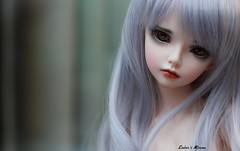 Just a girl (pure_embers) Tags: new uk portrait girl ball photography photo doll dolls profile stock lilac bjd pure joint embers minifee mirwen minifeemirwen pureembers embersmirwen
