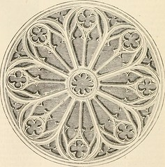 """Image from page 299 of """"An illustrated dictionary of words used in art and archaeology. Explaining terms frequently used in works on architecture, arms, bronzes, Christian art, colour, costume, decoration, devices, emblems, heraldry, lace, personal orname"""
