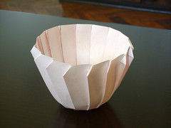 Curved folds #2 (orig4mi.) Tags: paper origami fold