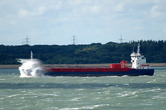 Huelin Dispatch heading west on the Solent (A F Photos) Tags: west solent heading huelin dispatch