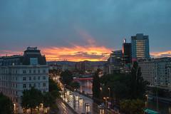 Sunset in Vienna (akk_rus) Tags: vienna wien city night austria nikon europe cityscape nightshot cityscapes 28 nikkor osterreich d800 nightcity  3570  nikkor357028  nikond800