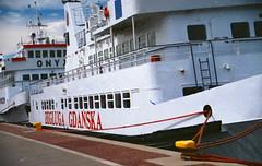 0093_Nikon_Heineken Opener 2014_2014-07-02_Gdynia_057 (nefotografas) Tags: city sea film sailboat heineken lens iso100 boat nikon sigma poland f80 fest expired 28300mm opener 122005 2014 gdynia agfacolor