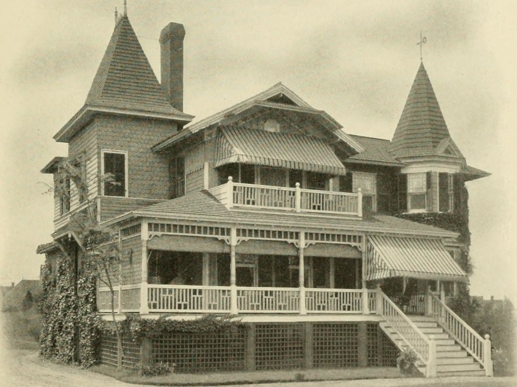"Image from page 74 of ""Sea Bright, Rumson Road, Oceanic, Monmouth Beach, Atlantic Highlands, Leonardville Road, Navesink, Water Witch Club : concerning summer homes along the shores of Monmouth County, New Jersey"" (1903)"
