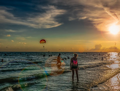 Siesta Key Beach (DonMiller_ToGo) Tags: sunset summer sky orange gulfofmexico landscape seascapes silhouettes sunsets g5 beaches skyscapes goldenhour skycandy beachphotography skypainter sunsetmadness sunsetsniper