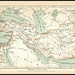 s0316 Alexande 2779 MeyA4B1 Alexander der Große Karte Meyers Konversations-Lexikon Erster Band Jahr 1885.