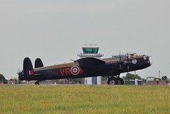 Vera - Canadian Lancaster (Owen Schooley) Tags: airport memorial fighter britain aircraft hurricane fast canadian lancaster ww2 spitfire bomber propeller southend warbird hawker avro supermarine bbmf