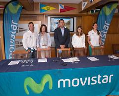 Presentación clinics de vela de Movistar en Cantabria