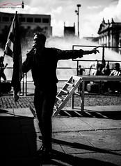 Hate (Mike™) Tags: street summer munich blackwhite sigma d800 2014 michelepalvarini 50mmf14art