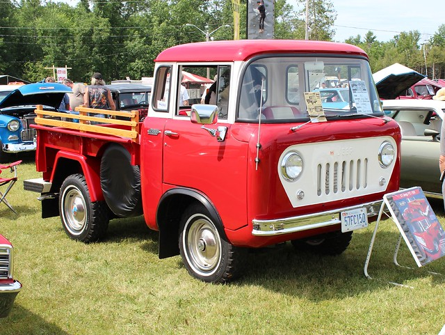©richardspiegelmancarphoto havelockshow2014 1957jeepfc150pickup4x4