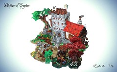 WTA2 (Cesbrick) Tags: tower castle lego medieval moc watctower