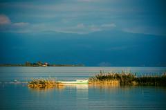 42 BEY 1004 (Melissa Maples) Tags: morning blue summer lake mountains reflection water turkey boat nikon asia trkiye nikkor vr afs  18200mm  f3556g  beyehir 18200mmf3556g d5100
