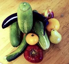 Fruits & vegetables (ali eminov) Tags: orange fruits vegetables pears eggplant tomatoes apples zucchini cucumbers