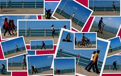 31 August 2014 - Street Scenes (penny_chicken) Tags: street collage aberystwyth promenade seafront scenes
