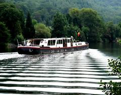 Ondes sur la Meuse (MarcGbx) Tags: pniche vague meuse onde wpion