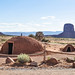 Mud Hut at Monument Valley