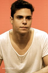Midnight Red - Fnac Callao (MyiPop.net) Tags: madrid red home me single midnight take discos firma fnac callao contigo