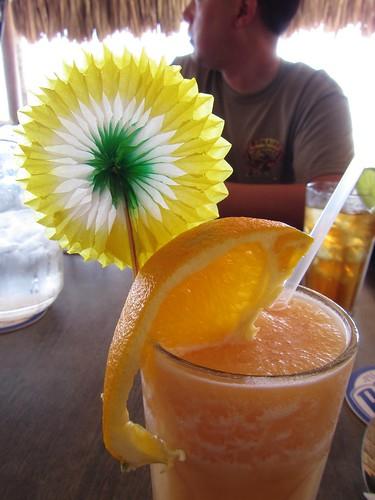 a non-alcoholic frou-frou drink